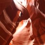 Weeping Eye - Upper Antelope Canyon, Page, AZ