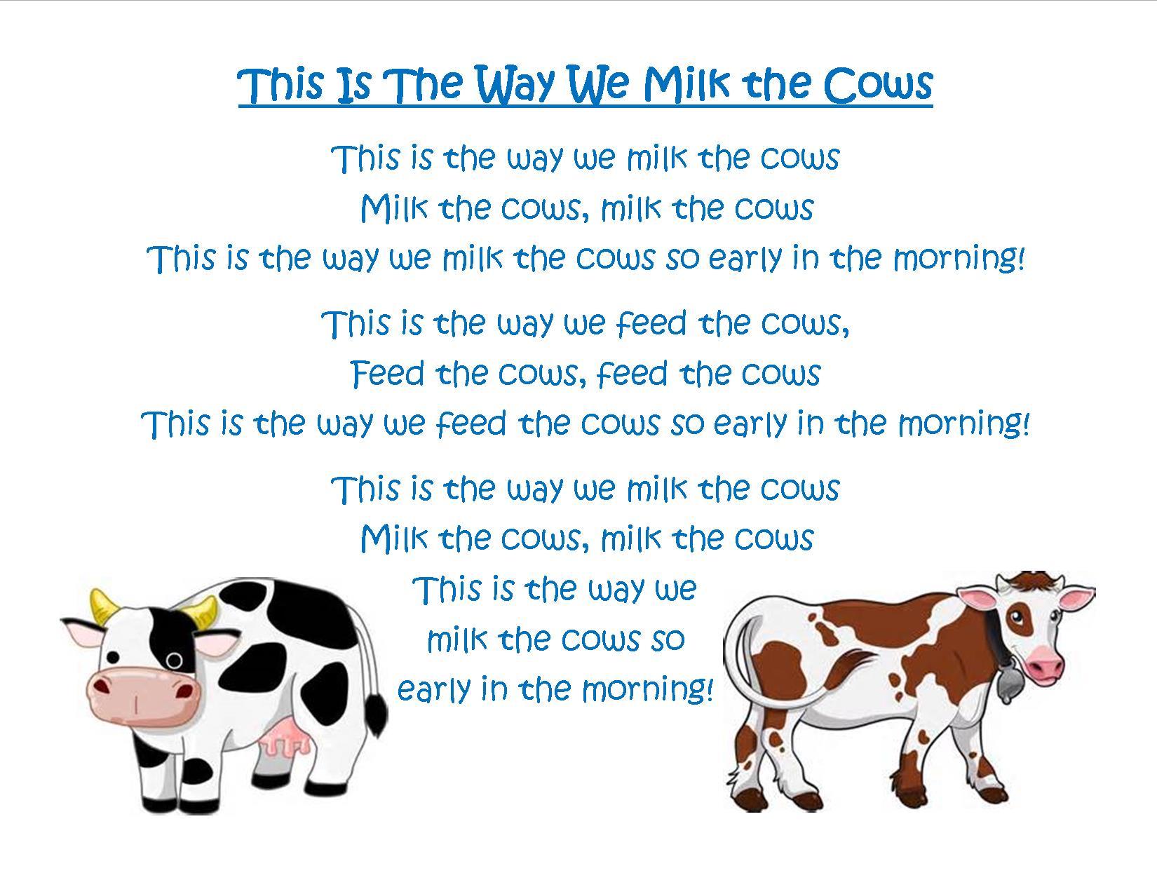 February Poem Preschool