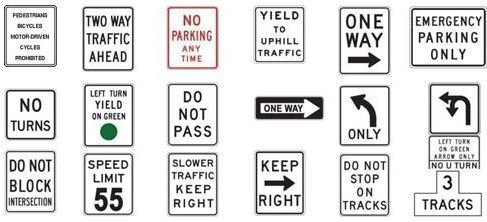 California Road Signs: What You Need to Know for the