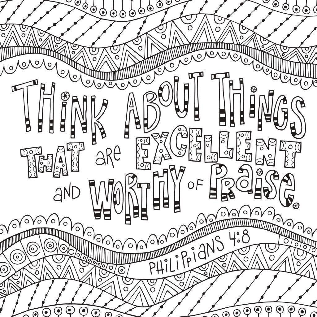 New Coloring Devotional for Kids with Free Downloads