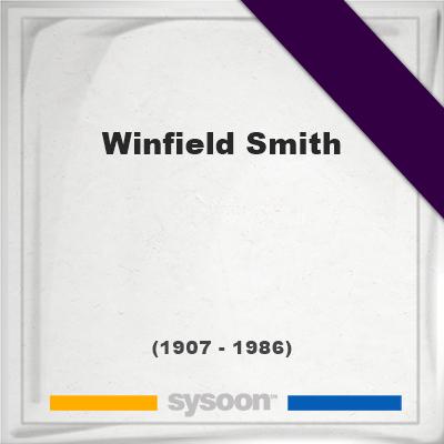 Winfield Smith