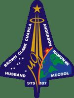 STS-107 Flight Insignia