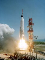 Mercury-Atlas 3 Launch