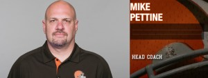Cleveland Browns Head Coach is one of many Cleveland Browns personalities to attend the 2015 Cleveland Auto Show.