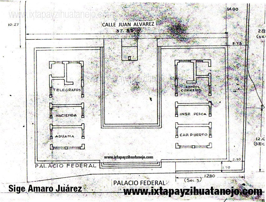 plano-palacio-federal-museo-arqueologico-zihuatanejo