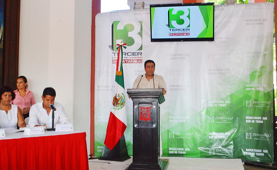 Tercer Informe de gobierno zihuatanejo