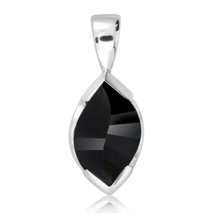 Onyx Special cut Silver Pendant