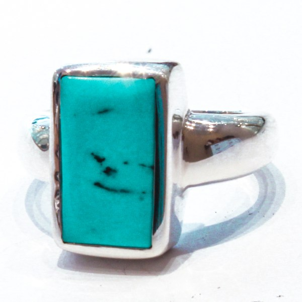 Arizona Turquoise Handmade Silver Ring