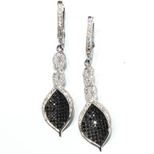 Dress Up Earrings in Sterling Silver