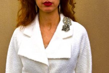 Cluster of Brooches on lapel