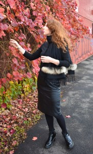 Styling Faux Fur This Winter