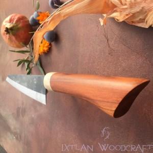 Honesuki kitchen knife apricot, deer horn