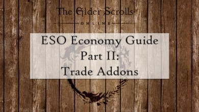 Photo of A Comprehensive Guide To The Elder Scrolls Online Economy – Part II