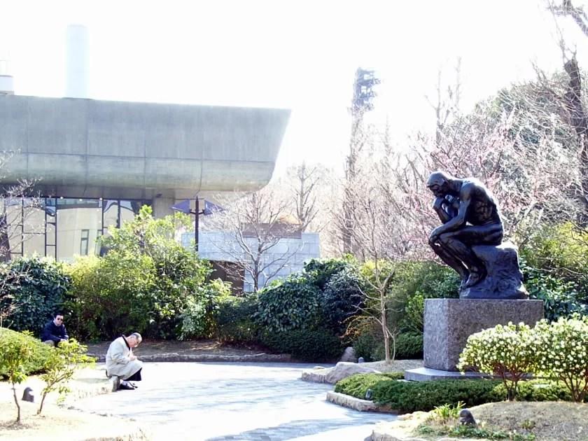 国立西洋美術館ではロダン展をやっていました