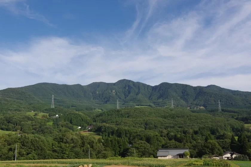蔵王連峰「瀧山(りゅうざん)」