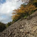 岩海:上山市の三吉山に登る - 2014年秋