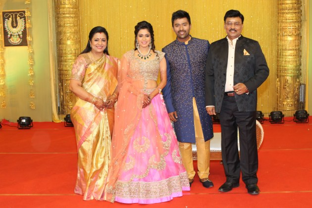 Shanthanu reception