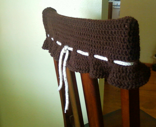 wall protector from chairs fishing chair rod rest kitchen topper pattern iyarny