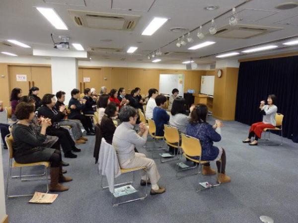 大阪市リフレッシュ研修 椅子ヨガ