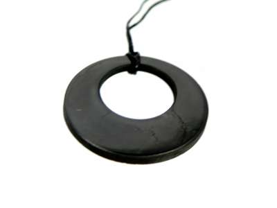 Shieldite - Circle in a Circle Pendant