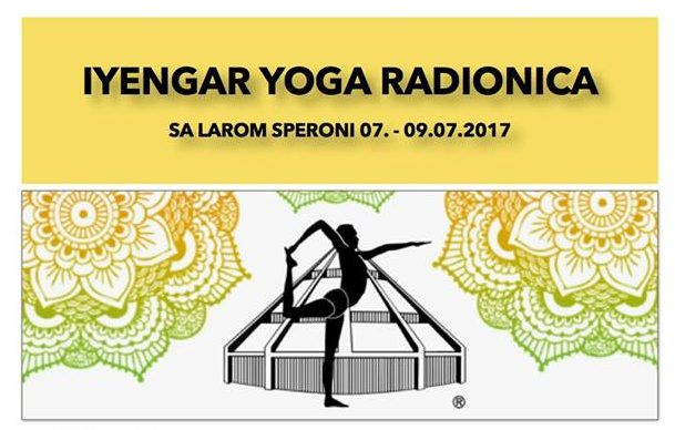 IYENGAR YOGA WORKSHOP with Lara Speroni