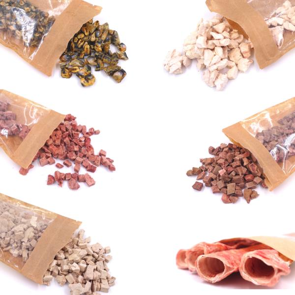 Freeze-Dried Dog Treats Köpek Ödülleri Et ve Sakatat Gerçek Protein Raw For Us İyi Besle İyi Hisset