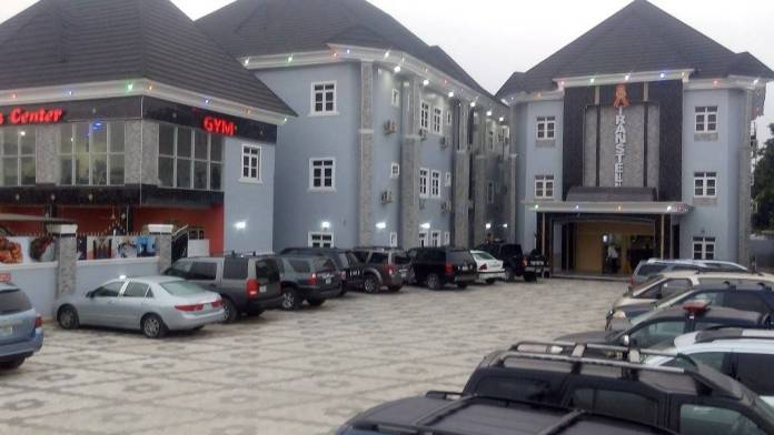 transtell Hotel Owerri Front view