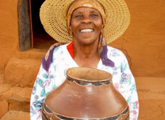 African Clay Pot, pottery, African pottery, Nigerian clay pot, Igbo pottery