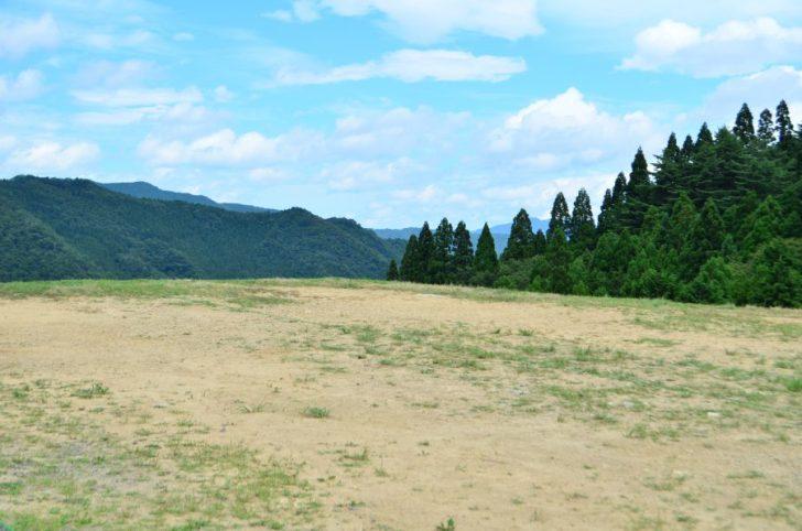 おおやキャンプ場絶景テントサイト