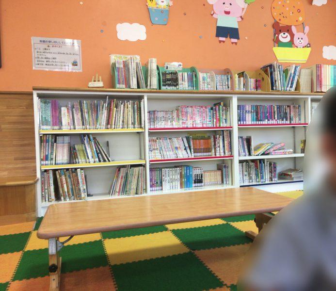 畑寺児童館,図書コーナー