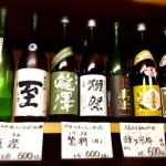 日本酒も各種取り扱っております