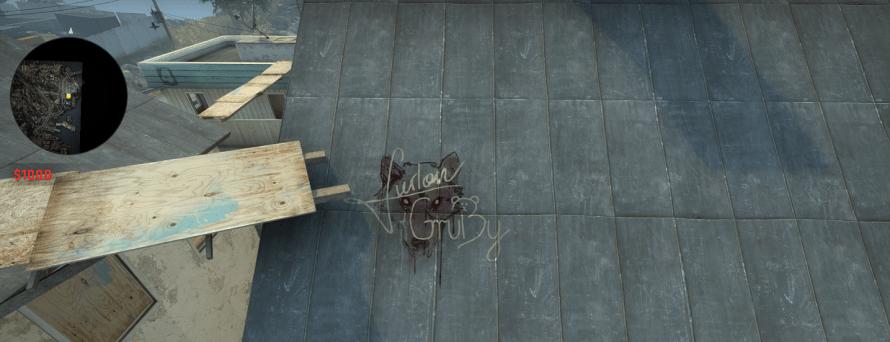 graffiti danger zone