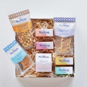 Caramel Popcorn, Macadamia Nut & Turkish Delight Sweet Box