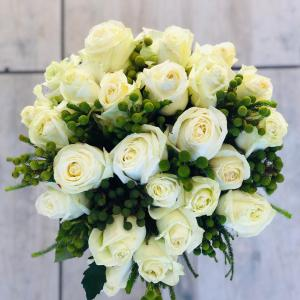 White Roses Bouquet - Delivery South Africa