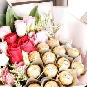 Bouquet of Ferrero Rocher - Florist South Africa