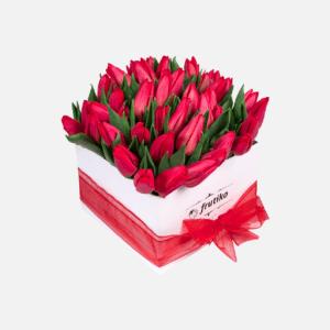 Stunning Tulip Box - Red