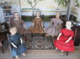 The dolls are happy that Lily is still visiting us :)