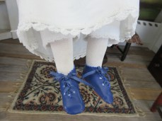Blue shoes <3