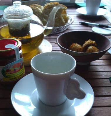 Thé anglais à la sauce italienne