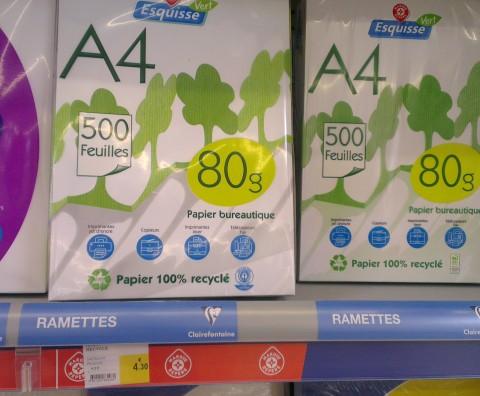 4€30 recyclée
