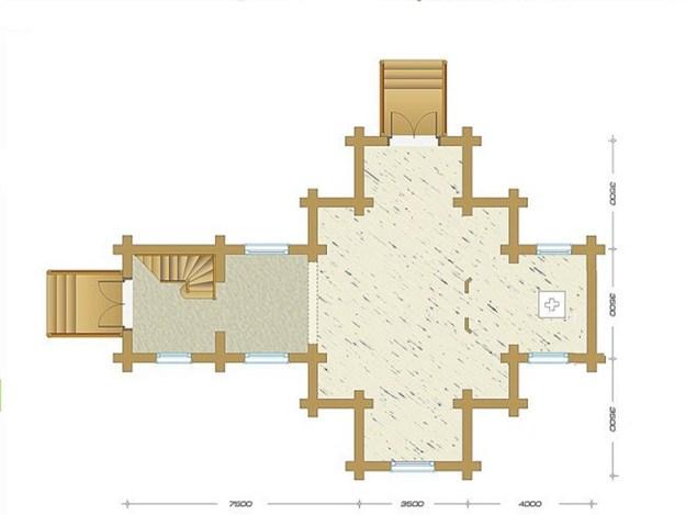 проект деревянного храма