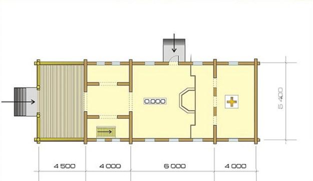 проект бревенчатой церкви киев