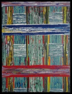 "REVERENTAcrylic on Canvas 48"" X 36"""