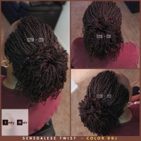 7 Senegalese Twist Photos  How To Style Your Twists ...