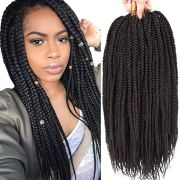 crochet box braid styles