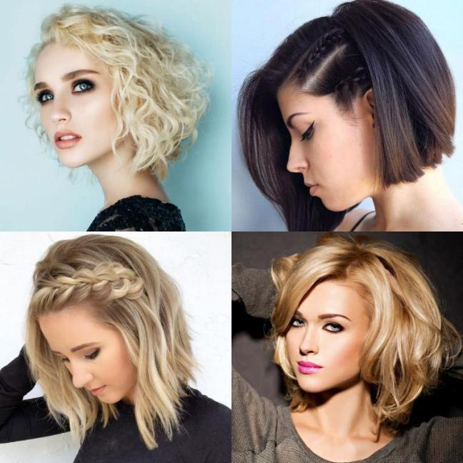 Новогодние прически 2021 на любую длину волос