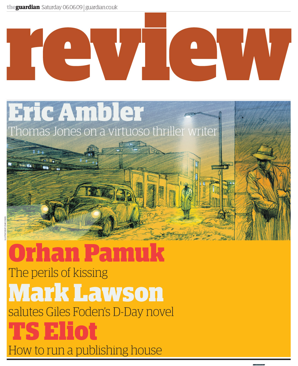 The Guardian's literary review, Eric Ambler