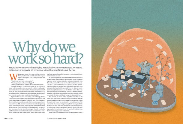 WHY DO WE WORK SO HARD? Page-1