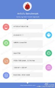 Samsung Galaxy A7 AnTuTu