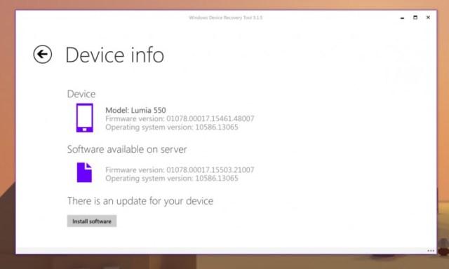 Microsoft Lumia Firmware